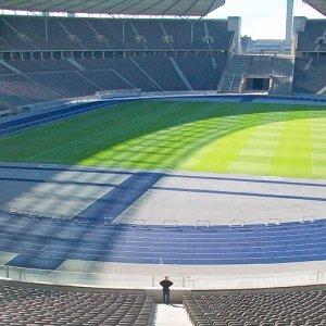 Nastro anti-ghiaccio nello stadio della finale dei Mondiali 2018