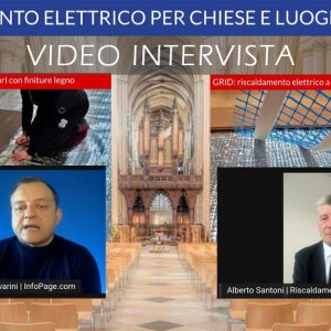 Video Intervista sul riscaldamento elettrico per edifici di culto con tecnologia FLOAT e GRID