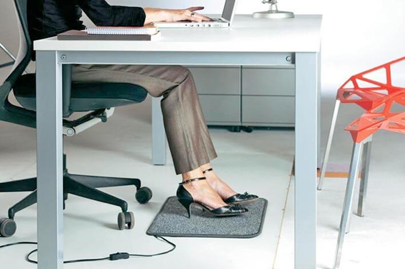 scalda-piedi-ufficio